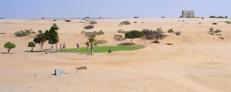 Golf in Hentiesbaai