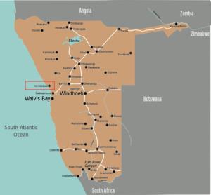 Hentiesbaai Map